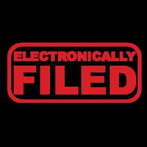 e-filed stamp